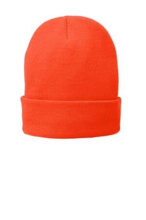 CP90L port & company fleece-lined knit cap cp90l