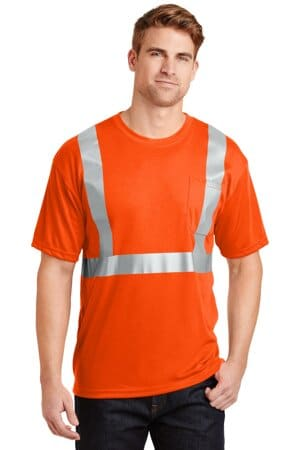 cornerstone-ansi 107 class 2 safety t-shirt cs401