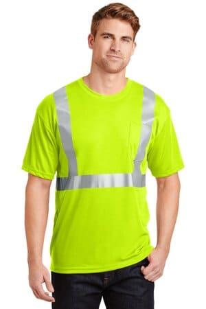 cornerstone-ansi 107 class 2 safety t-shirt cs401
