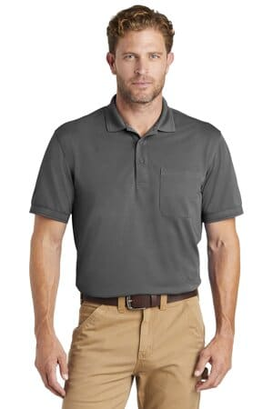 cornerstone industrial snag-proof pique pocket polo cs4020p