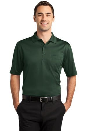 CS412P cornerstone select snag-proof pocket polo cs412p