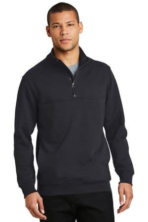CS626 cornerstone 1/2-zip job shirt