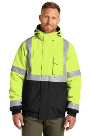 CSJ500 cornerstone ansi 107 class 3 economy waterproof insulated bomber jacket