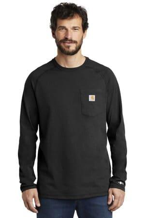 CT100393 carhartt force cotton delmont long sleeve t-shirt