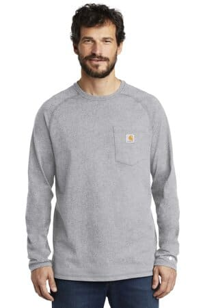carhartt force cotton delmont long sleeve t-shirt ct100393