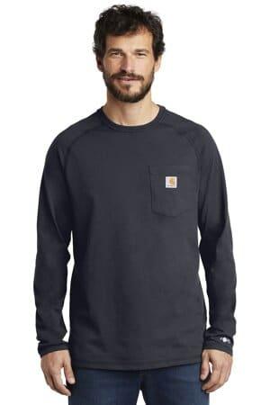 carhartt force cotton delmont long sleeve t-shirt ct100393