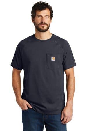 carhartt force cotton delmont short sleeve t-shirt ct100410