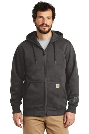 carhartt rain defender paxton heavyweight hooded zip-front sweatshirt ct100614