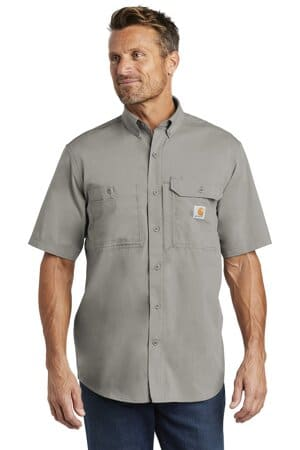 CT102417 carhartt force ridgefield solid short sleeve shirt