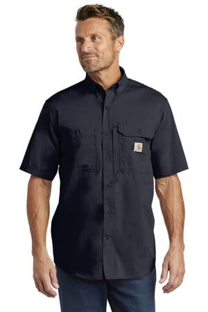 carhartt force ridgefield solid short sleeve shirt ct102417