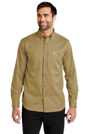 CT102538 carhartt rugged professional series long sleeve shirt