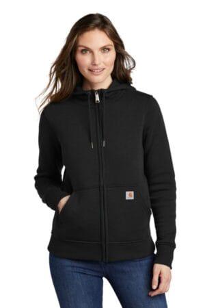 CT102788 carhartt women's clarksburg full-zip hoodie