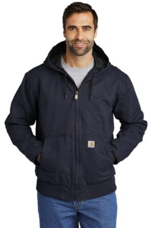 CT104050 carhartt washed duck active jac