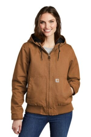 CT104053 carhartt women's washed duck active jac