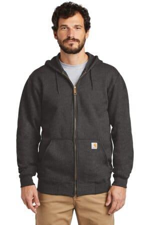 CTK122 carhartt midweight hooded zip-front sweatshirt