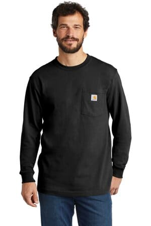 CTK126 carhartt workwear pocket long sleeve t-shirt