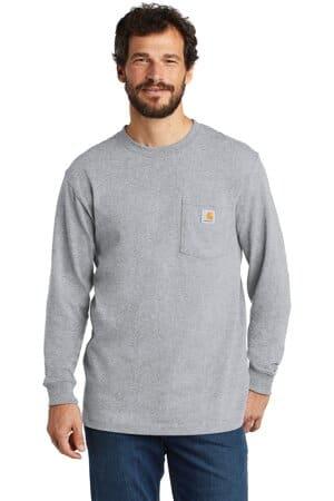 carhartt workwear pocket long sleeve t-shirt ctk126