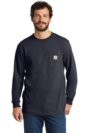carhartt workwear pocket long sleeve t-shirt ctk126