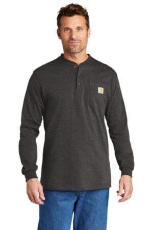 CTK128 carhartt long sleeve henley t-shirt