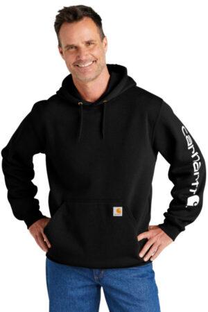 CTK288 carhartt midweight hooded logo sweatshirt