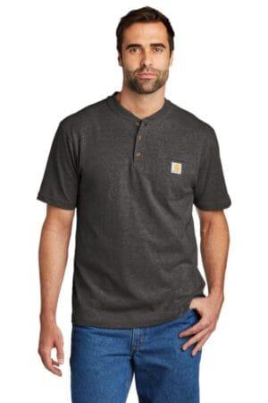 CTK84 carhartt short sleeve henley t-shirt