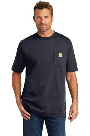 carhartt workwear pocket short sleeve t-shirt ctk87