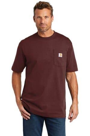 carhartt workwear pocket short sleeve t-shirt ctk87