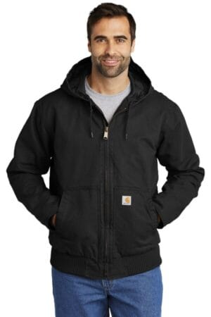 CTT104050 carhartt tall washed duck active jac