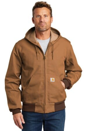 carhartt tall thermal-lined duck active jac cttj131