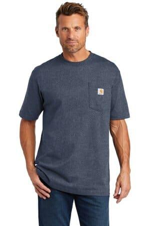 carhartt tall workwear pocket short sleeve t-shirt cttk87