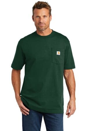 carhartt tall workwear pocket short sleeve t-shirt cttk87