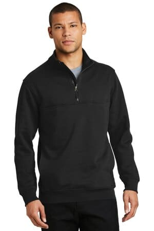 CS626 cornerstone 1/2-zip job shirt cs626