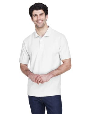 D100 Devon & jones men's pima piqu short-sleeve polo