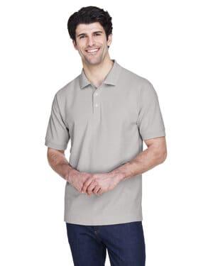 Devon & jones D100 men's pima piqu short-sleeve polo