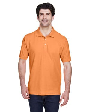 D100 Devon & jones men's pima piqu short-sleeve polo