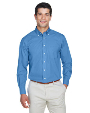 D620T men's tall crown woven collection solid broadcloth