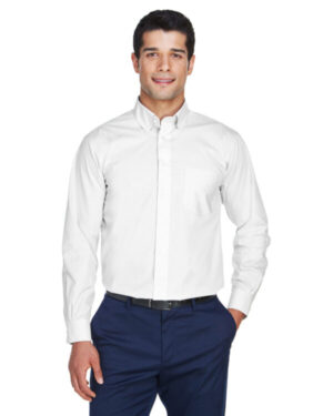 D620 men's crown woven collection solid broadcloth