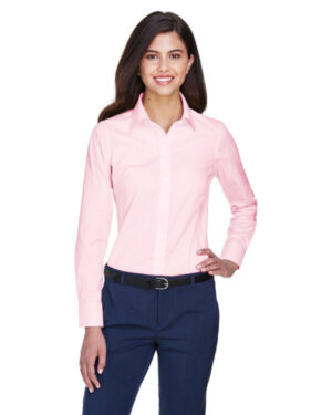 D630W ladies' crown woven collection solid oxford