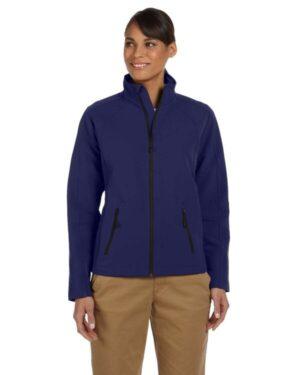 D945W ladies' doubleweave tech-shell duplex jacket