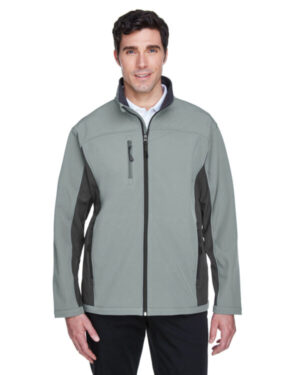 Devon & jones D997 men's soft shell colorblock jacket