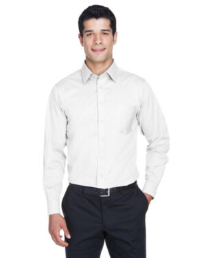 DG530 men's crown wovencollection solid stretch twill
