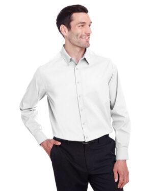 Devon & jones DG542 men's crownlux performance stretch shirt
