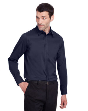 DG560 men's crown collection stretch broadcloth slim fit shirt