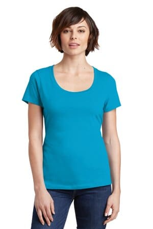 DM106L district women's perfect weight scoop tee dm106l