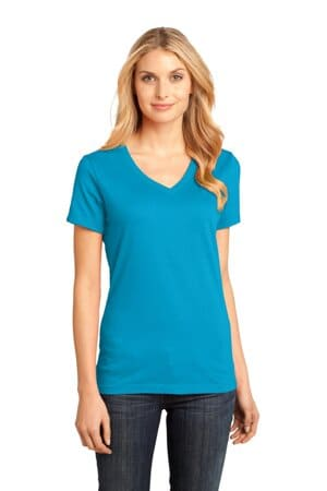 district-women's perfect weight v-neck tee dm1170l