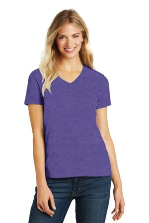 district women's perfect blend v-neck tee dm1190l