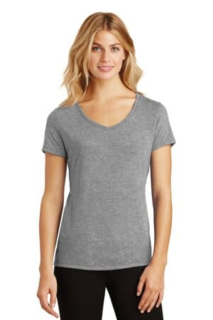DM1350L district women's perfect tri v-neck tee dm1350l