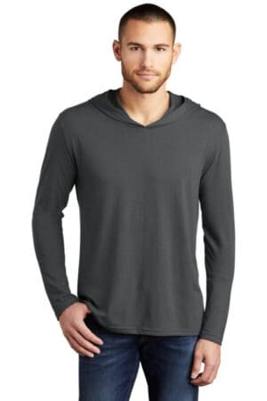 DM139 district perfect tri long sleeve hoodie dm139