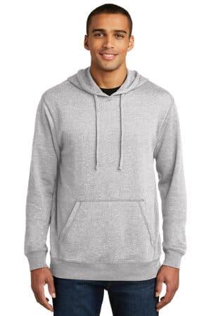 DM391 district lightweight fleece hoodie dm391