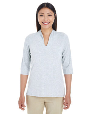 DP188W ladies' perfect fit tailored open neckline top